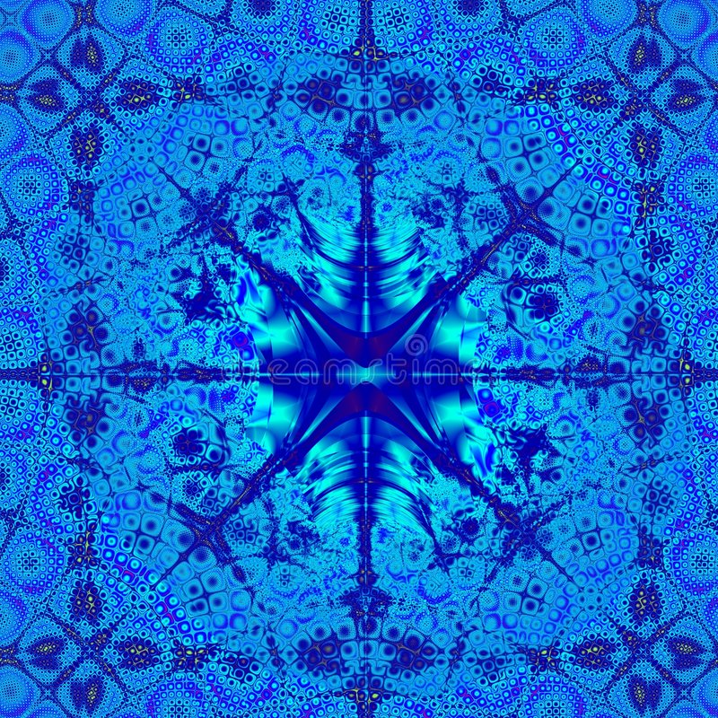 Modello astratto blu elegante di disegno della priorità bassa illustrazione di stock