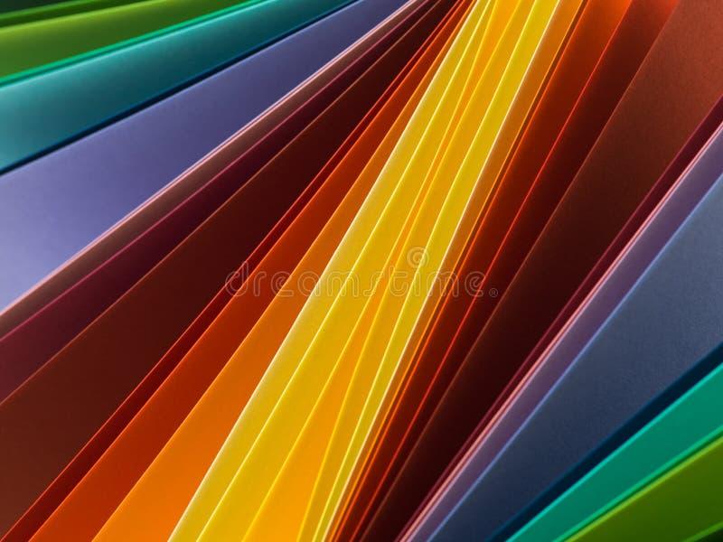 Modello astratto con i colori vibranti fotografia stock