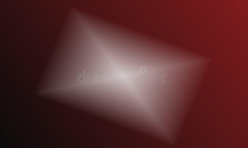 Modello astratto 3d del fondo nel colore rosso royalty illustrazione gratis