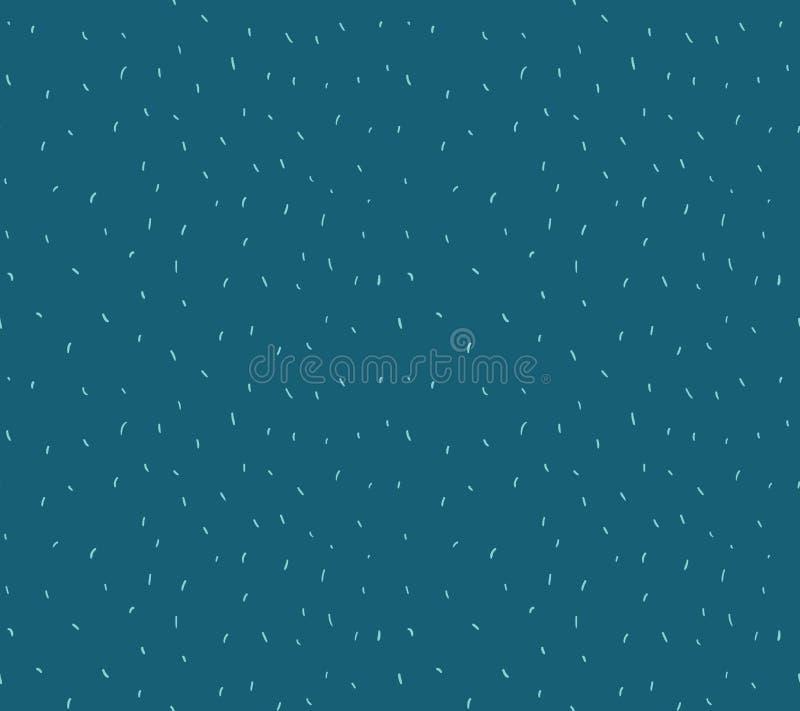 Modello astratto del fondo dei coriandoli Ripetizione del modello pastello dei coriandoli Illustrazione di vettore illustrazione di stock