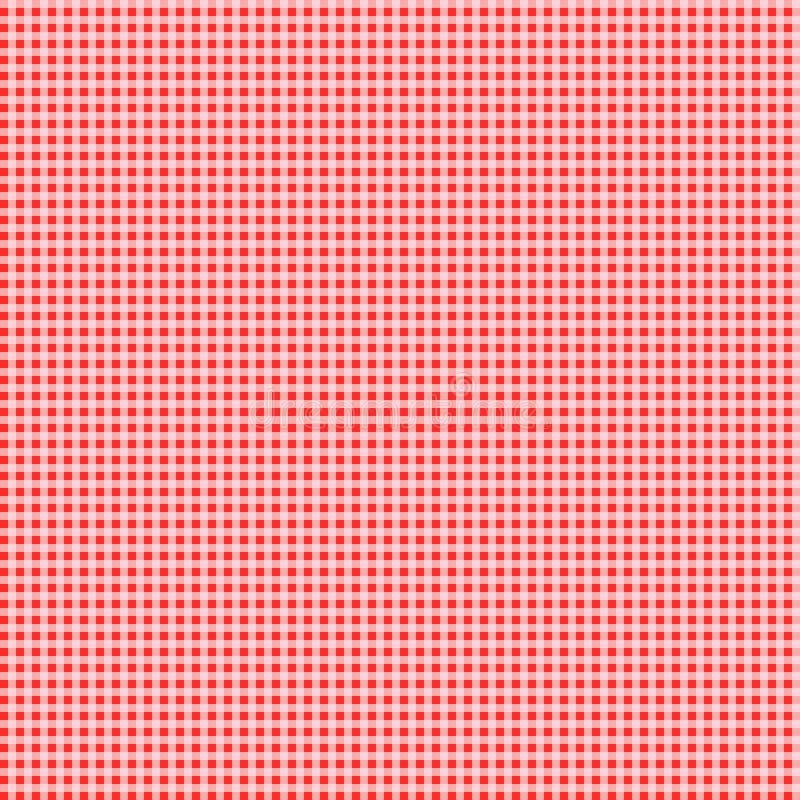 Modello astratto della tovaglia con colore rosso fotografia stock libera da diritti