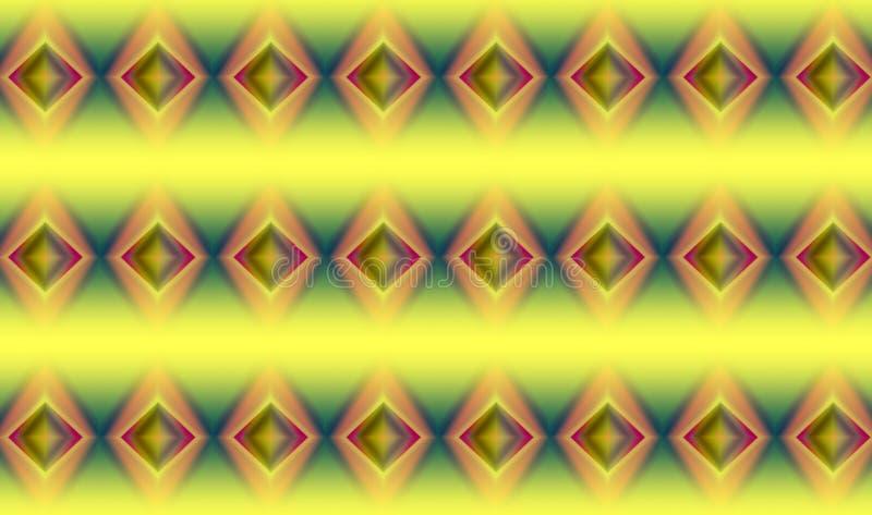 Modello astratto di colore, ambiti di provenienza illustrazione vettoriale