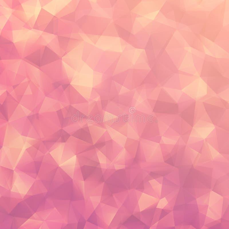 Modello astratto di forma di progettazione geometrica. ENV 10 royalty illustrazione gratis