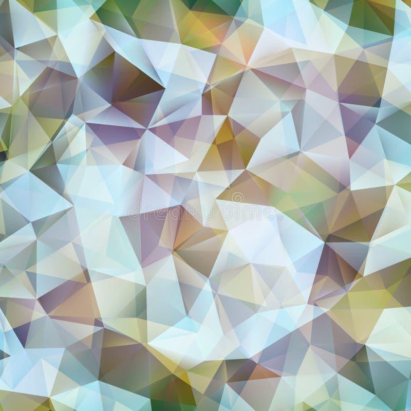 Modello astratto di forma di progettazione geometrica. ENV 10 illustrazione vettoriale