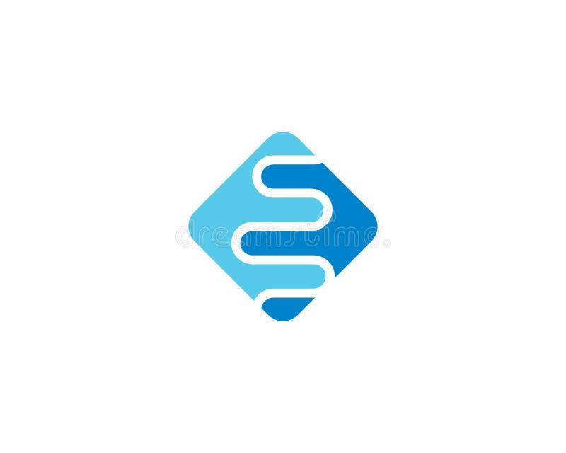 Modello astratto di logo illustrazione di stock