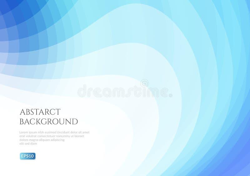 Modello astratto per la vostra progettazione Spazio bianco per testo royalty illustrazione gratis