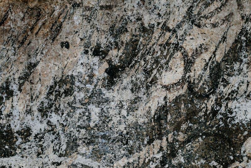 Modello astratto su struttura concreta grigia Fondo di pietra scuro Primo piano d'annata di marmo in bianco e nero Fondo m. del g immagini stock