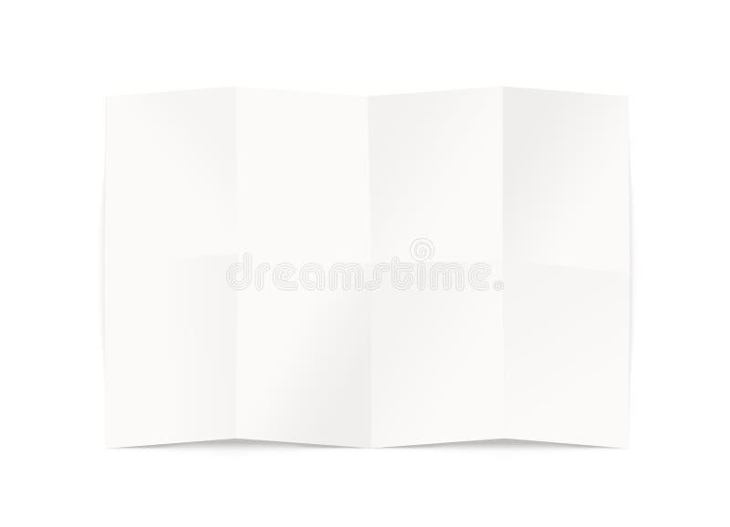 Modello in bianco di progettazione della mappa, isolato, percorso di ritaglio, illustrazione 3d illustrazione di stock
