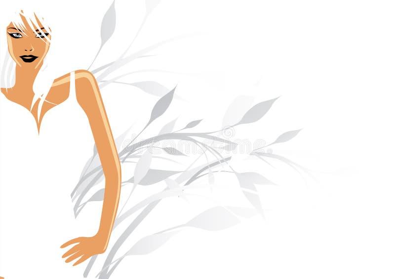 Modello bianco puro royalty illustrazione gratis