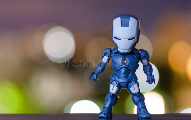 Modello blu fotografia stock libera da diritti