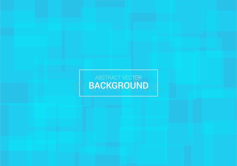 Modello blu di progettazione del fondo del manifesto di vettore astratto fotografie stock