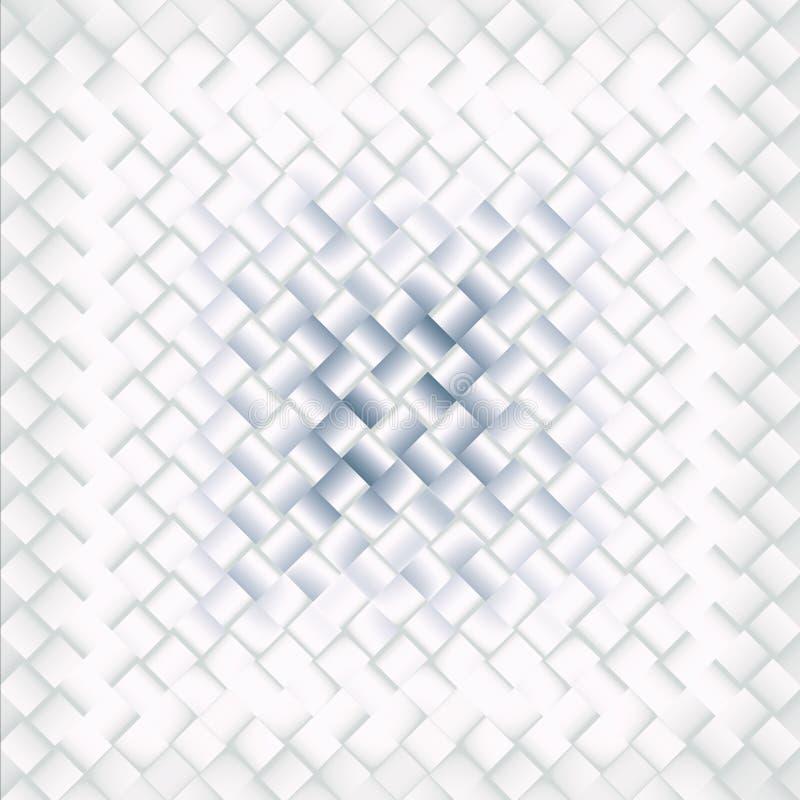 Modello blu e bianco delle mattonelle, fondo minimalista fotografia stock libera da diritti