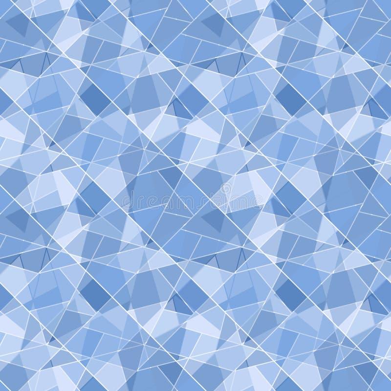 Modello brillante geometrico senza cuciture di vettore - abst illustrazione vettoriale