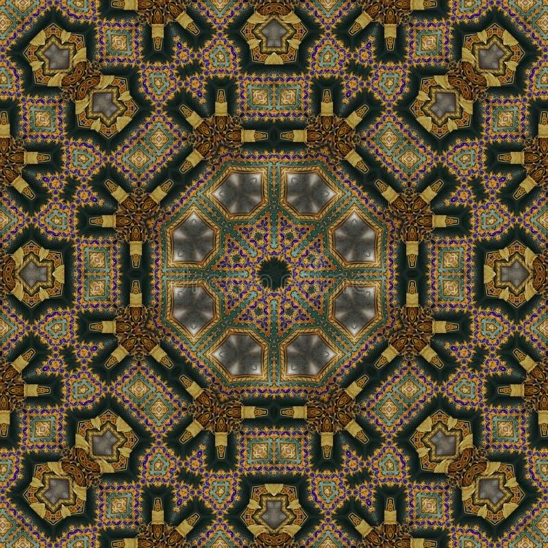 Modello celtico senza cuciture 006 immagini stock
