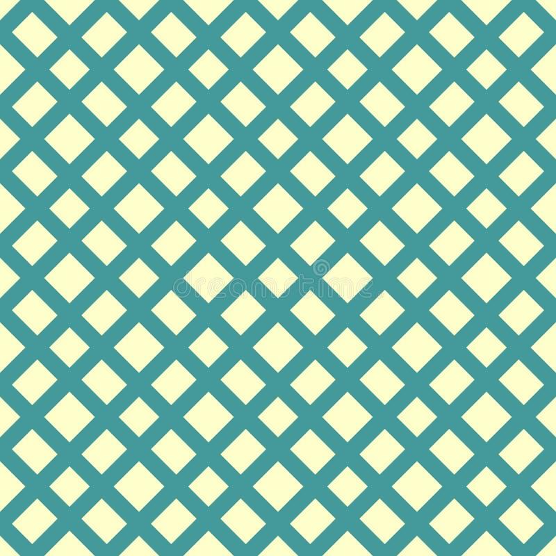 Modello con la maglia, griglia Fondo senza cuciture Struttura geometrica astratta royalty illustrazione gratis