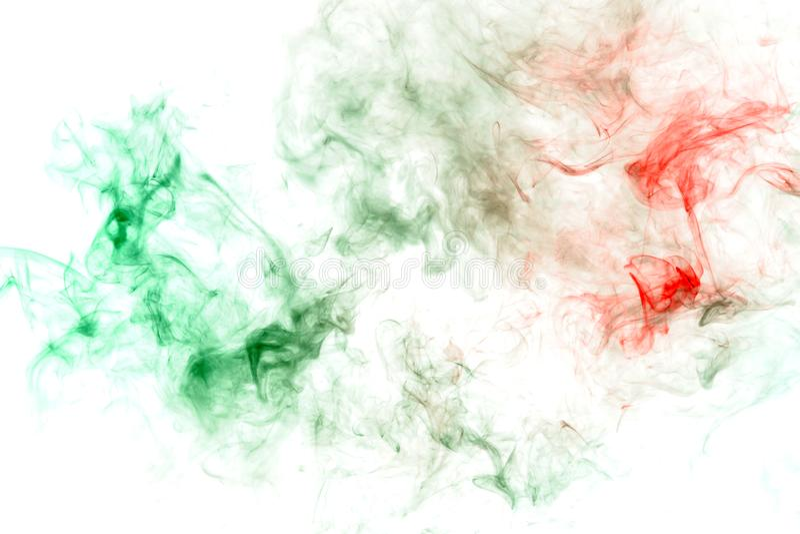 modello con una sostanza tossica verde che assorbe il liquido rosso come un'infezione o malattia Stampa per la maglietta Inchiost fotografia stock libera da diritti
