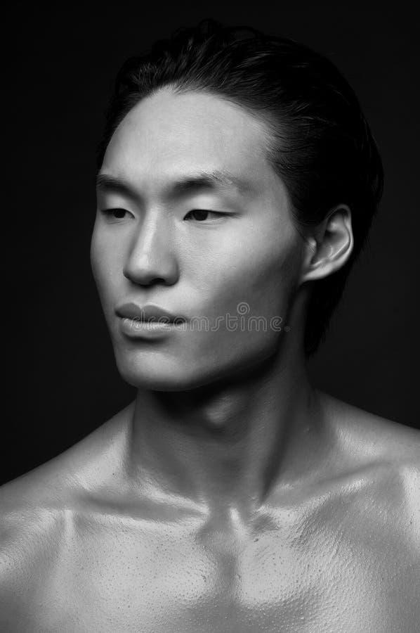 Modello coreano fotografia stock libera da diritti