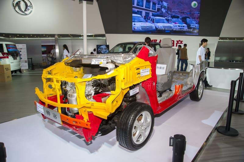 Modello cromatico dell'automobile del succe di Nissan fotografie stock libere da diritti