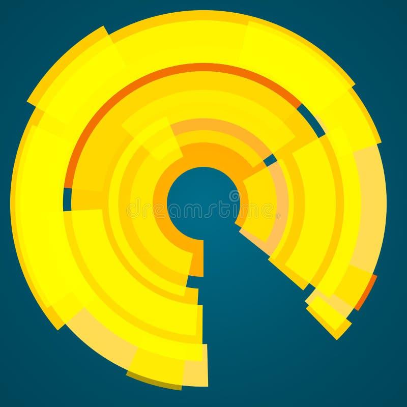Modello d'avanguardia astratto con differenti forme e strutture geometriche fotografia stock libera da diritti