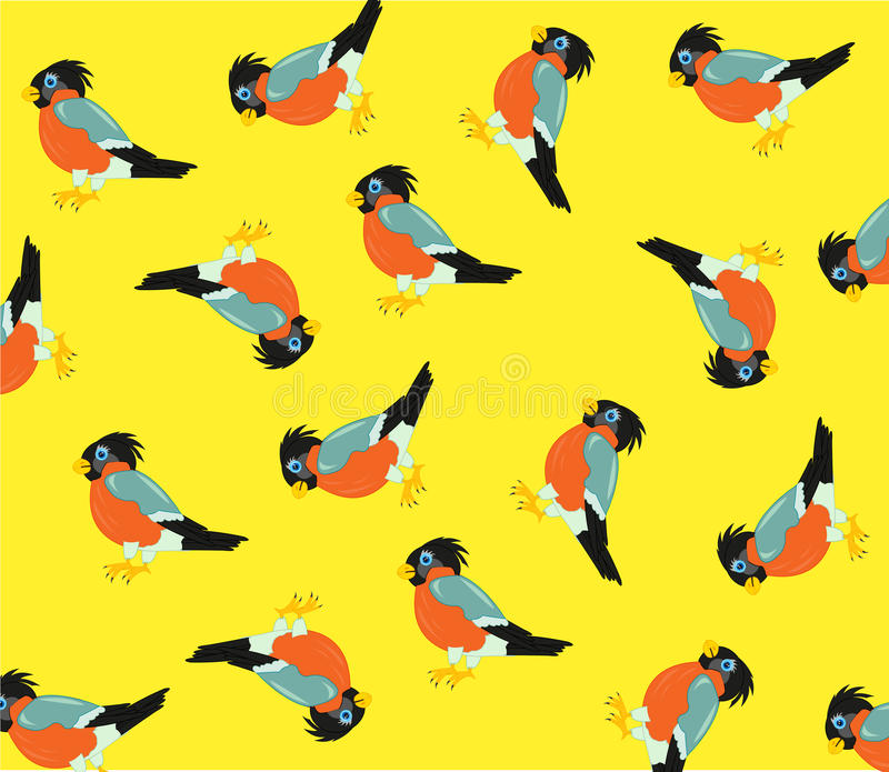 Modello dagli uccelli royalty illustrazione gratis
