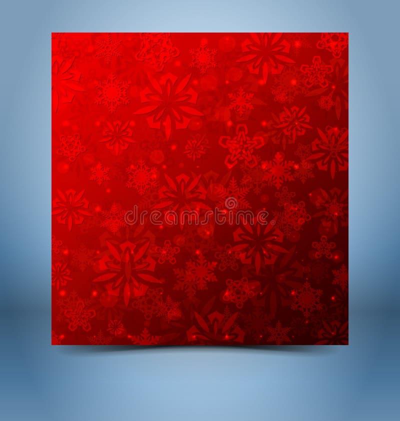 Modello decorativo del fondo di Natale illustrazione di stock