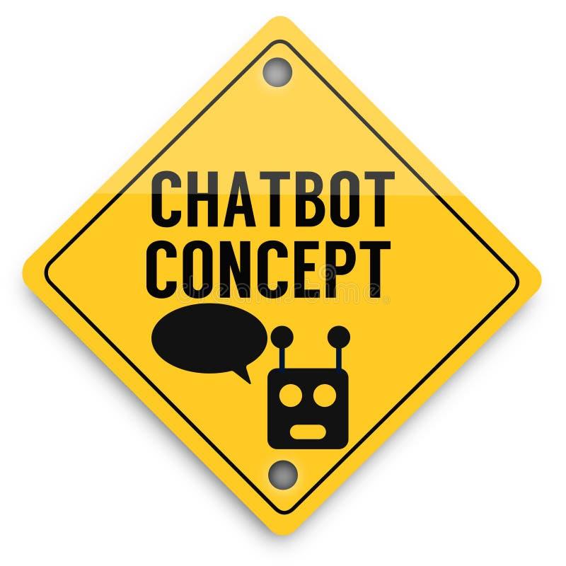 Modello degli elementi del fondo di Chatbot avanti, manifesto astratto di affari di qualit? eccellente illustrazione vettoriale