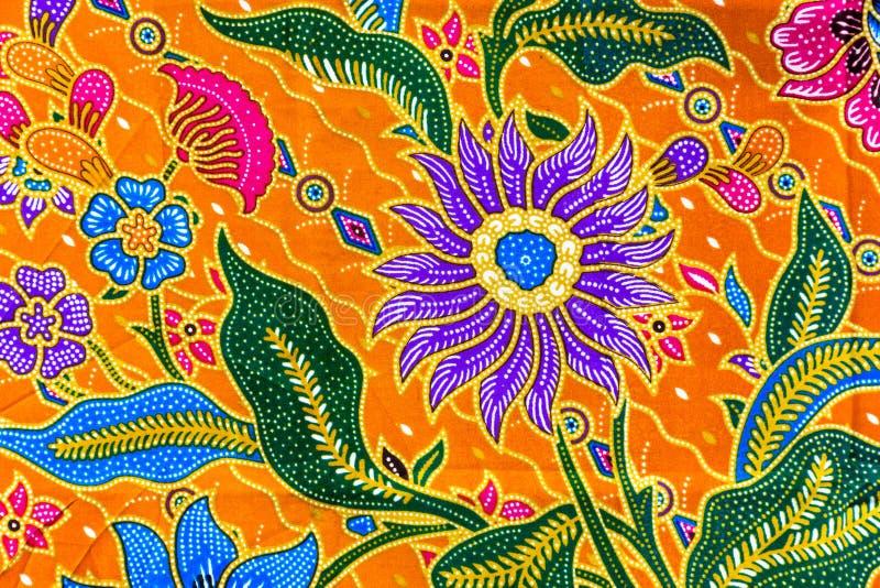 Modello dei sarong del batik, sarong tradizionale del batik in asiatico fotografie stock libere da diritti