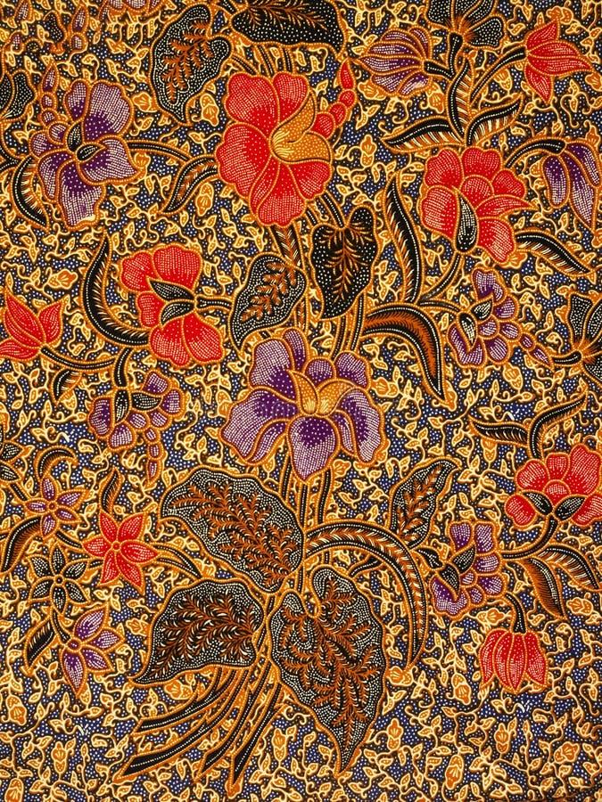 Modello del batik, assolo, Indonesia fotografia stock libera da diritti