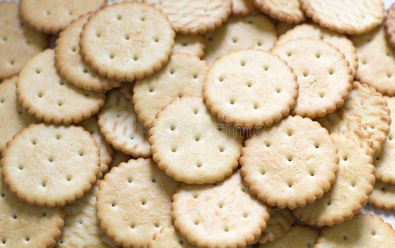 Modello del biscotto fondo culinario, pasticceria fresca fotografia stock