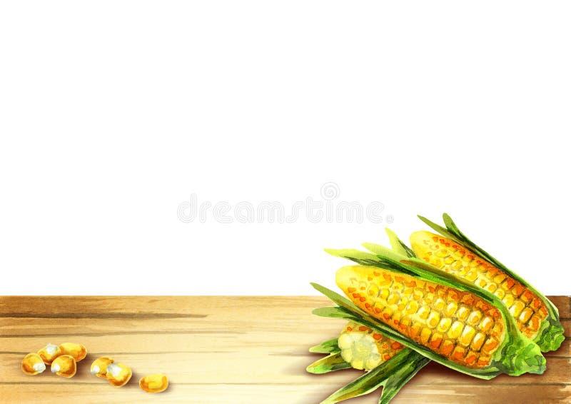 Modello del cereale per il vostro prodotto royalty illustrazione gratis