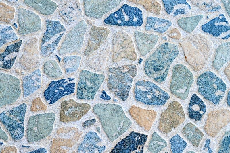 Modello del ciottolo sulla piastrella per pavimento ceramica fotografie stock