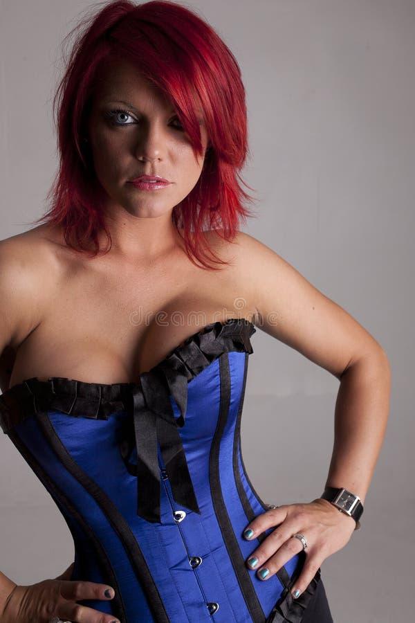 Modello del corsetto immagine stock libera da diritti