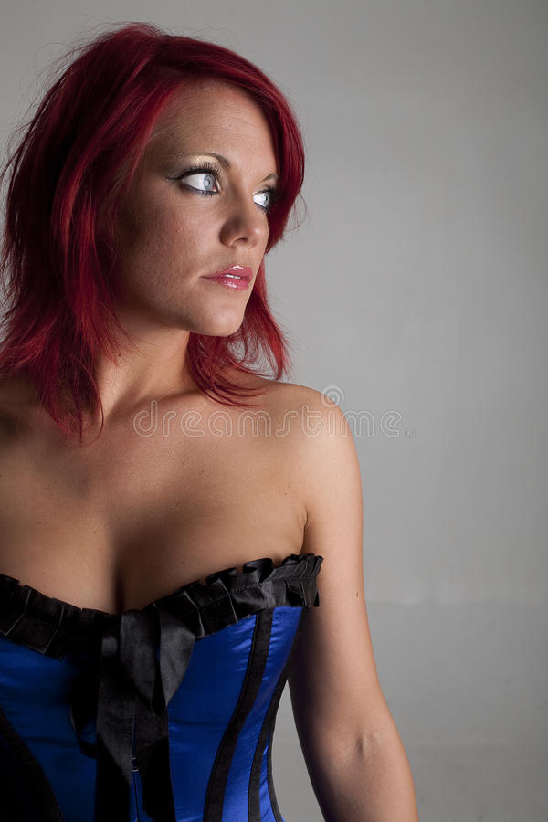 Modello del corsetto immagine stock