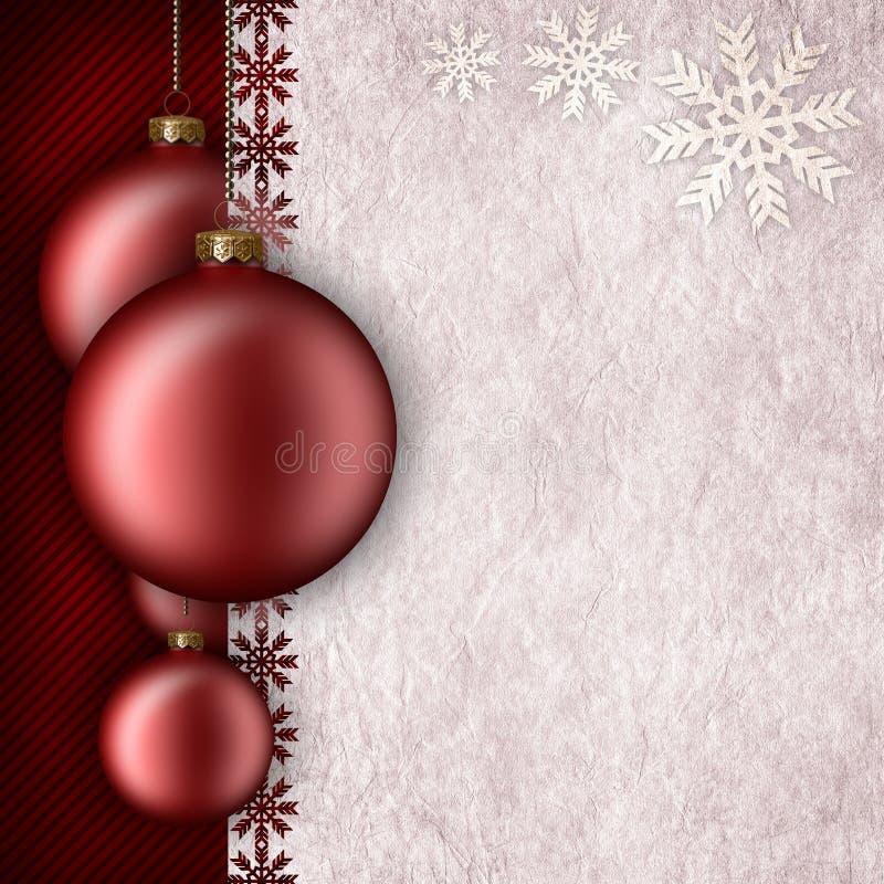 Modello del fondo di Natale illustrazione vettoriale
