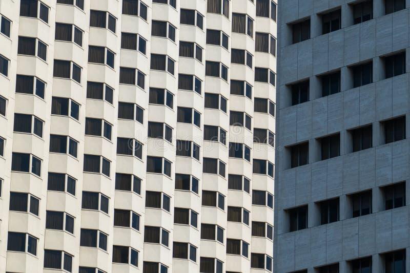 Modello del grattacielo fotografia stock