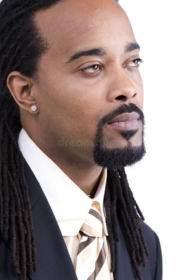 Modello del maschio dell'afroamericano immagini stock libere da diritti