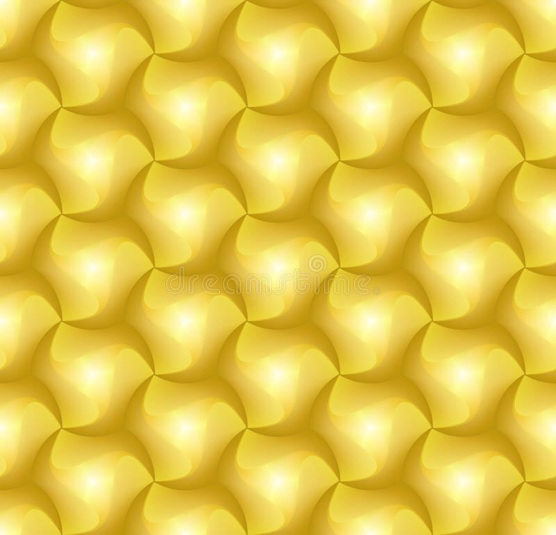modello del mattone delle mattonelle di esagono 3d per la decorazione e le mattonelle di progettazione royalty illustrazione gratis