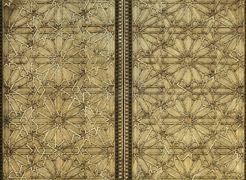 Modello del metallo di moresco fotografie stock