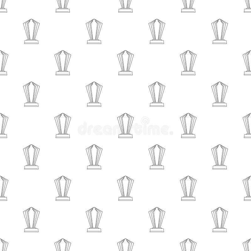 Modello del premio senza cuciture illustrazione vettoriale