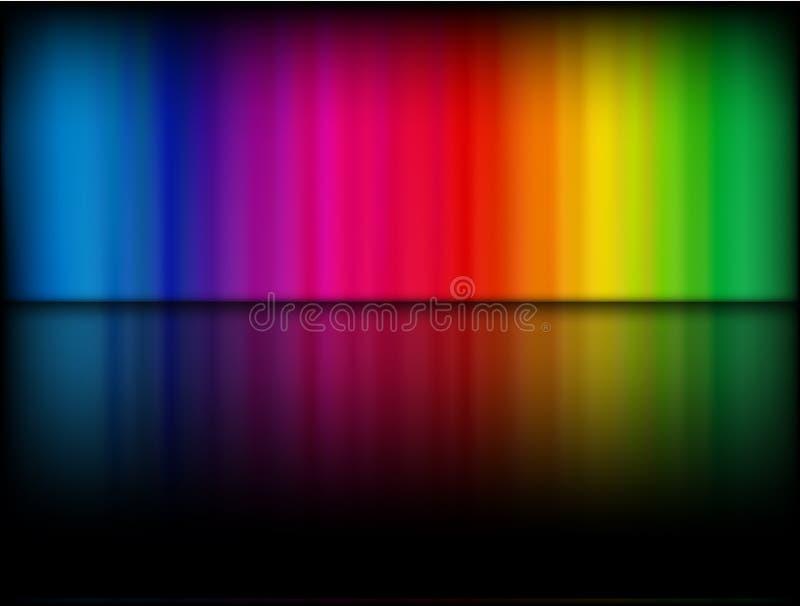 Modello del Rainbow royalty illustrazione gratis