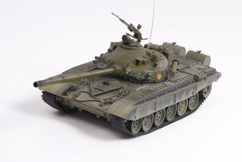 Modello del serbatoio di battaglia sovietico fotografie stock libere da diritti
