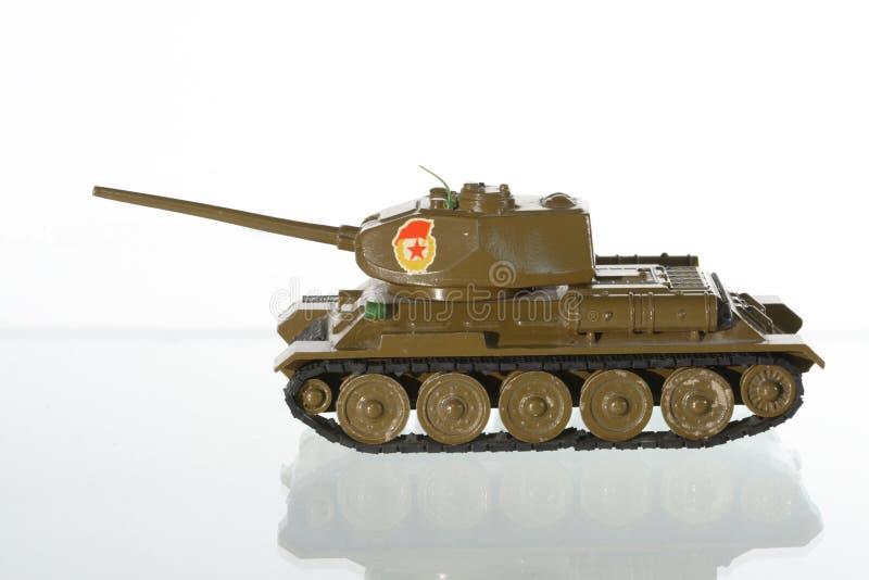 Modello del serbatoio sovietico fotografia stock libera da diritti