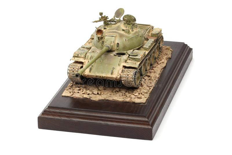 Modello del supporto di un carroarmato militare immagine stock libera da diritti