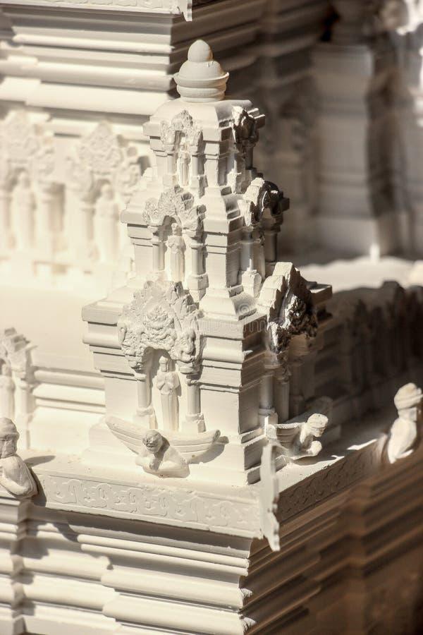 Modello del tempio fotografia stock libera da diritti