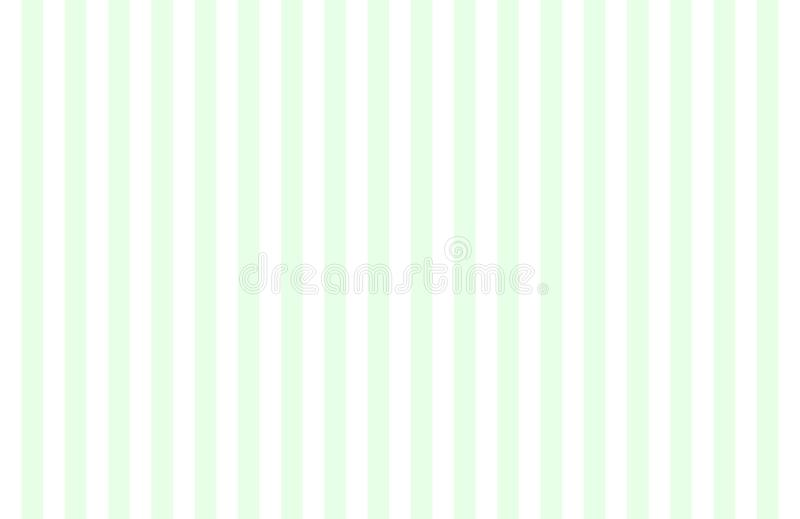 Modello del verticale, delle stesse bande bianche di verde della menta di dimensione e con lo spazio della copia illustrazione di stock