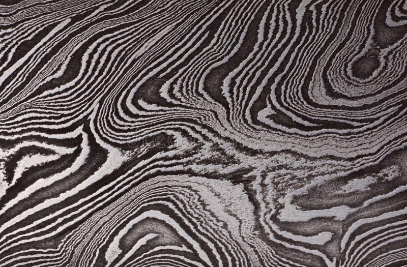 Modello dell'acciaio del damasco fotografia stock libera da diritti
