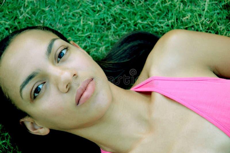 Modello dell'afroamericano immagini stock