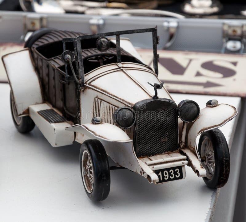 Modello dell'automobile dell'annata fotografia stock libera da diritti