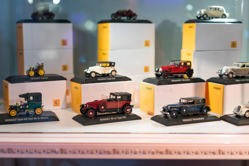 Modello dell'automobile di Citroen immagini stock
