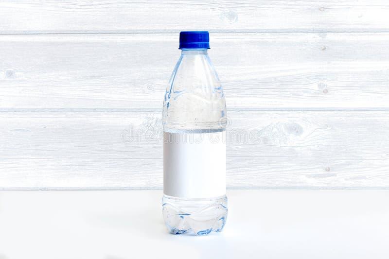 Modello dell'etichetta della bottiglia, etichetta della bevanda, etichetta in bianco immagine stock libera da diritti